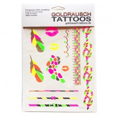 Flash Tattoos Neon Party